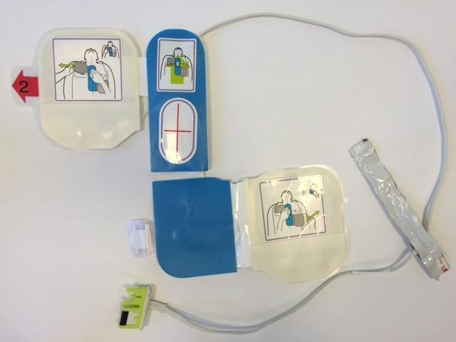 Elektroder till hjärtstartare